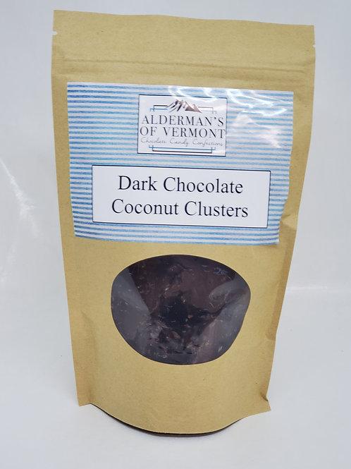 Dark Chocolate Coconut Clusters