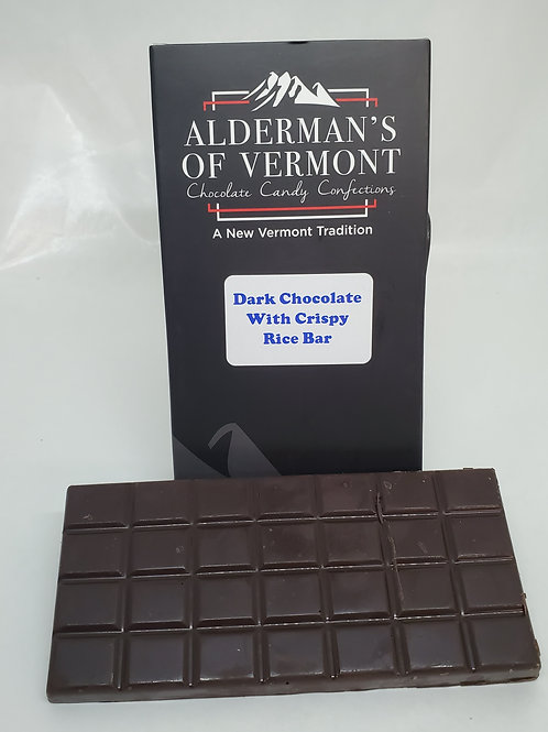 Dark Chocolate Crispy Rice Bar