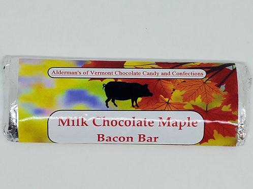 Milk Chocolate Maple and Bacon Bar
