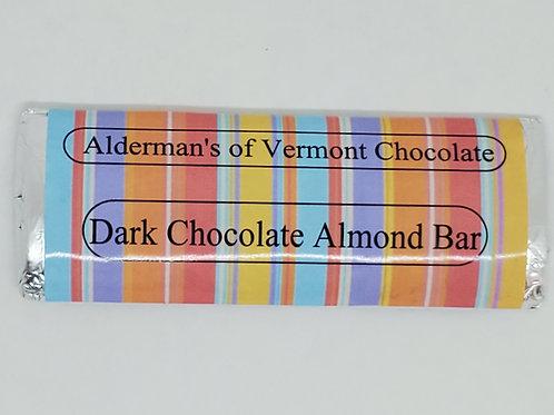 Wholesale Dark Chocolate Almond Bar Small 1.4oz
