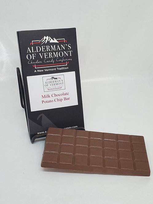 Milk Chocolate Potato Chip Bar