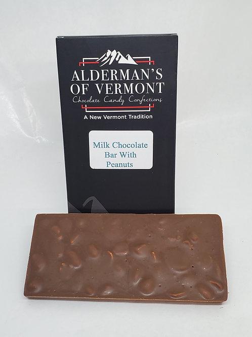 Milk Chocolate with Peanuts Bar