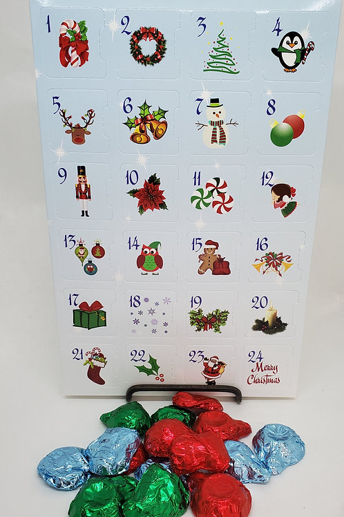 Milk or Dark Chocolate Advent Calendar