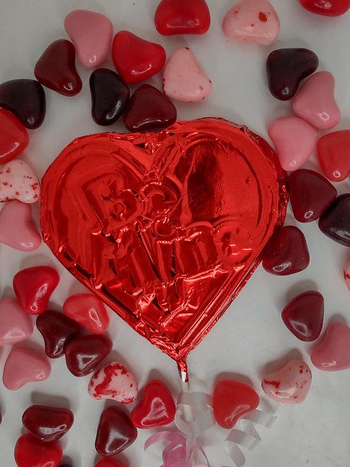 Milk or Dark Chocolate Be MINE Heart Valentines Day Lollipops (2)