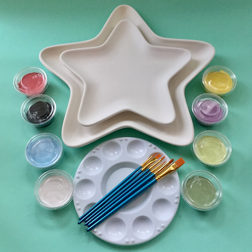 Paint at Home Double Star Plate Kit