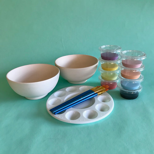 Paint at Home Double Bowl Kit