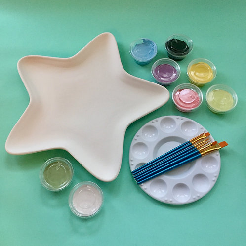 Paint at Home Large Star Plate Kit