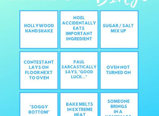 Bake Off Bingo!!