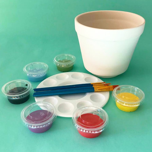 Paint at Home Plant Pot Kit