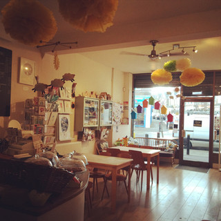 Creative Bisucit Ceramics Cafe in South Woodford, east London