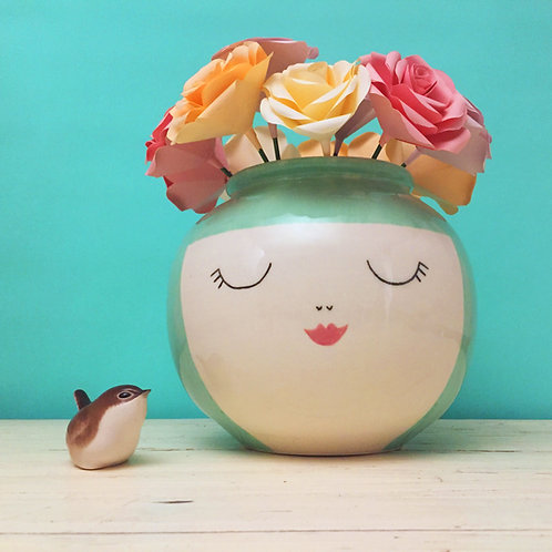 Not Just A Pretty Face Vase