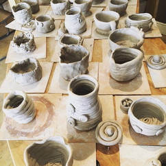 Clay workshops for schools
