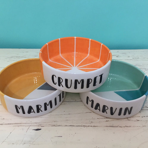 Personalised Pet Bowls - Medium