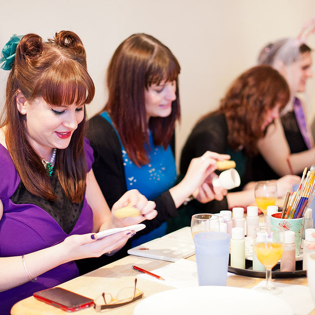 Ceramic Painting Hen Parties at Creative Biscuit