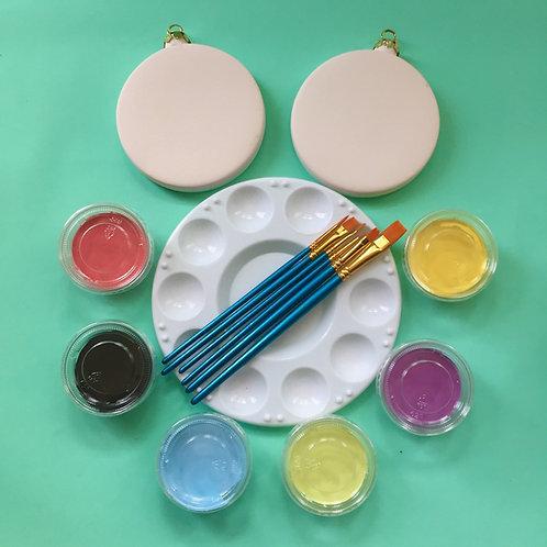 Paint at Home Ornaprint Bauble Kit