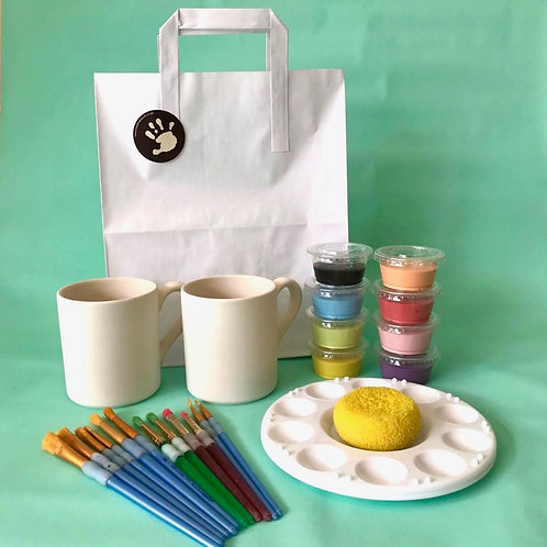 Paint at Home Double Mug Kit