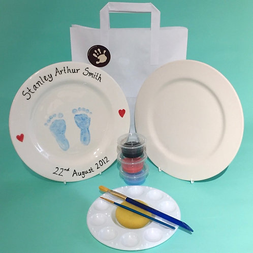 Baby Hand and Footprints Takeaway Kit