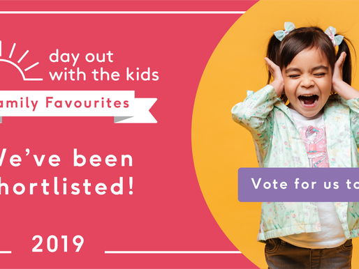We're up for an award! Vote for us!