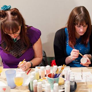 Ceramic Painting Parties at Creative Biscuit