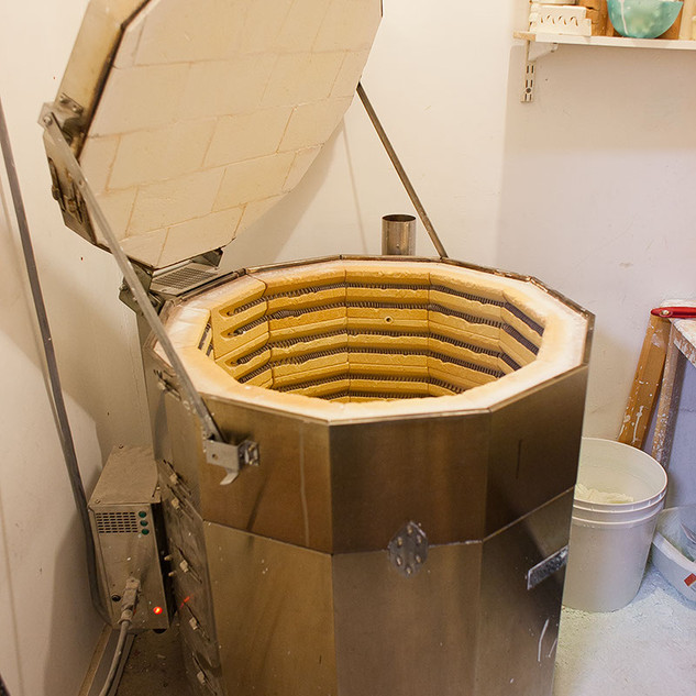 The Kiln at Creative Bisucit Ceramics Cafe