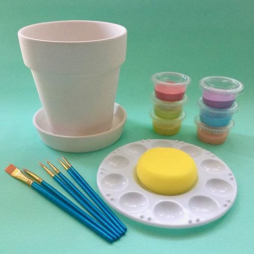 Paint at Home Flower Pot Kit