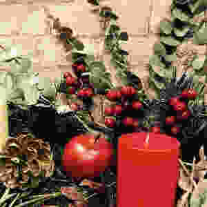 Christmas decorations by Lillies of Wanstead