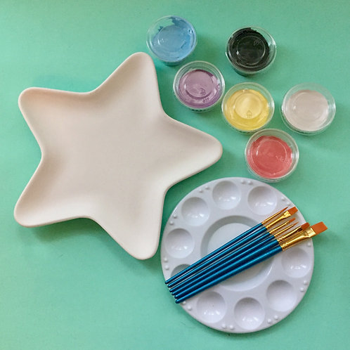 Paint at Home Small Star Plate Kit