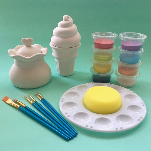 Paint at Home Kid's Double Pot Kit