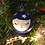 Thumbnail: Pretty Face Hand Painted Christmas Bauble