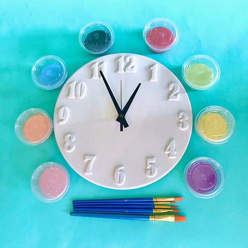 Paint at Home Clock Kit
