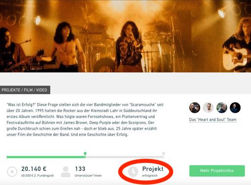 Erfolgreiches Crowdfunding!