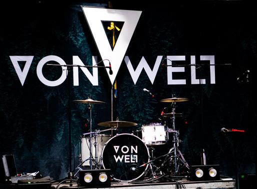 """""""VON WELT""""-Drummer im Interview - Patrick Moser muss """"hoch hinaus"""""""