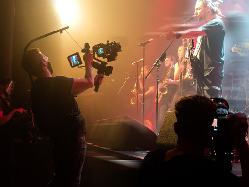 Ska Punk vor der Kamera - gefilmter Live-Auftritt mit No Authority - 10 Kameras für Konzertfilm