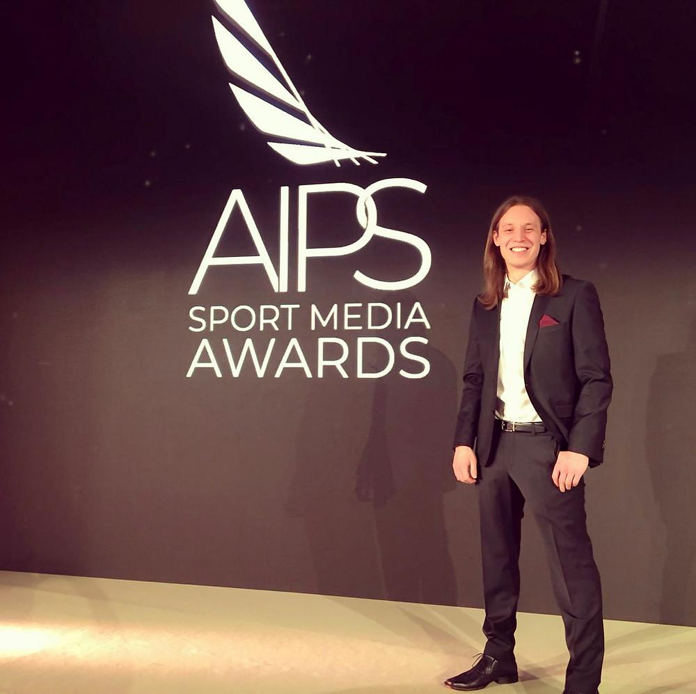 Pirmin Styrnol, AIPS, Sport Media Awards, Preisträger, Sport Oscar, Oscar, Award, Lausanne, Sportjournalist