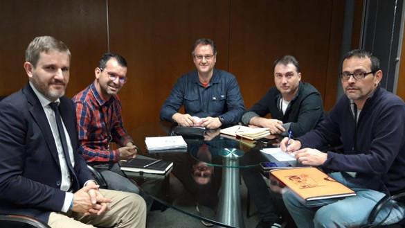 Reunión con PSOE