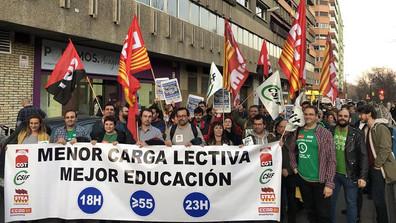 Concentración Sede Podemos