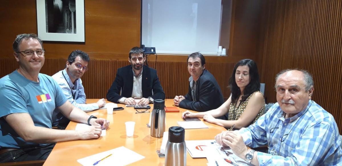 Reunión con IU Aragón