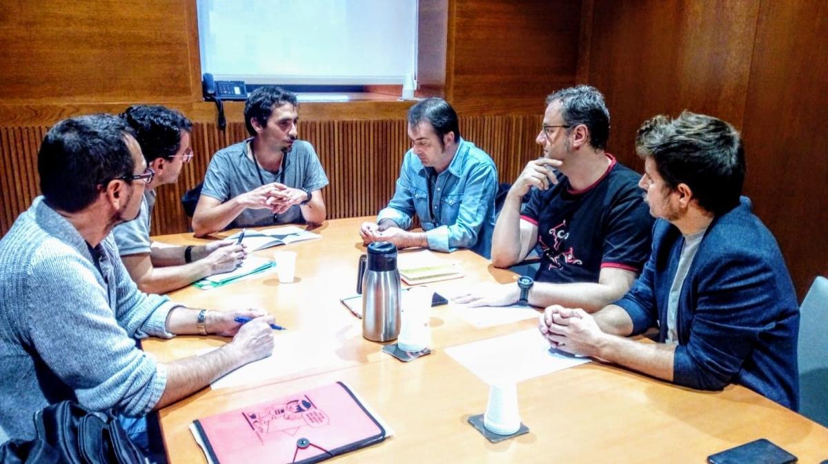 Reunión con PODEMOS Aragón