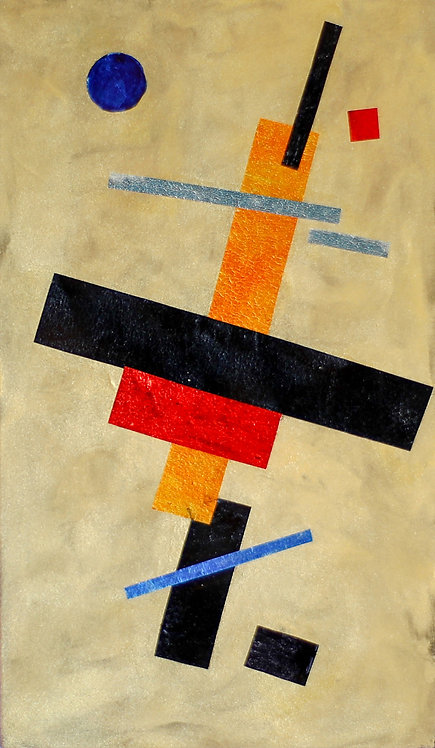 Blue Moon - Homage To Suprematism