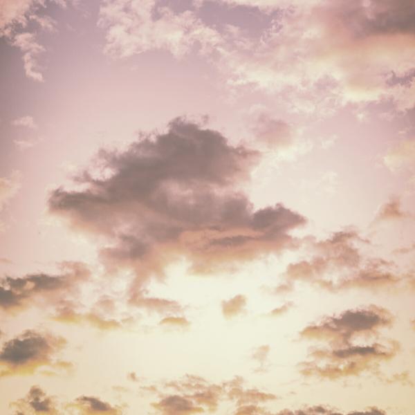 clouds in a sunset sky