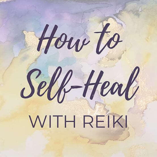 How to self-heal with Reiki - an online Reiki course with Reiki Master Teacher Sophie Shaw