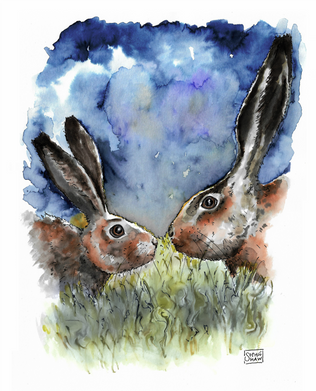 Hare and Mother Hare