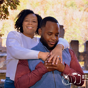 Brontavious & Brittany Engagement Photos