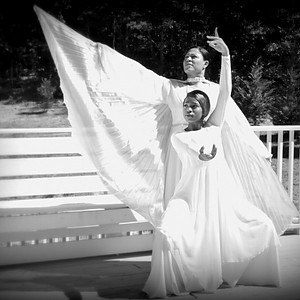 Liturgical Dancers Photo Shoot Onsite