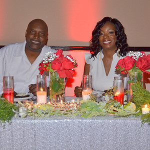Coretta and Walt's 50th Birthday All White Affair