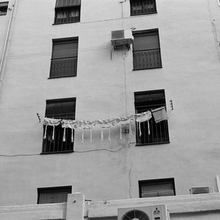 Hanging Clothes- Madrid Spain