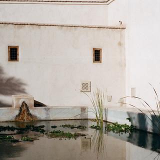 Tadelakt- Le Jardin Secret- Marrakech