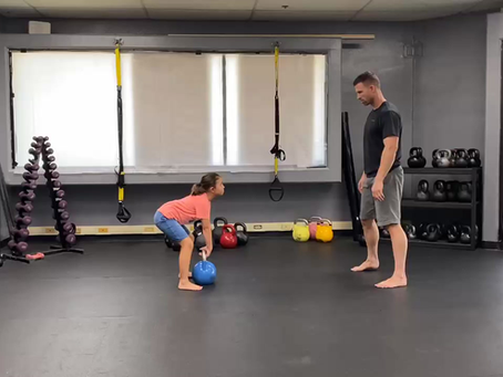 Kettlebell Partner Passing 101:            The Two Hand Pass