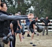 Kettlebell Partner Passing Ranco Cucamonga CA workshop