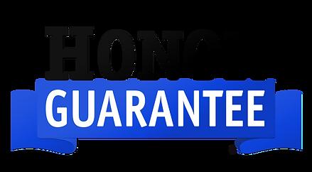 $25,000 honor guarantee